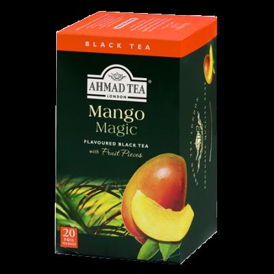 Ahmad Tea - Mango Magic - Fekete tea gyümölcsdarabkákkal 20 db filter