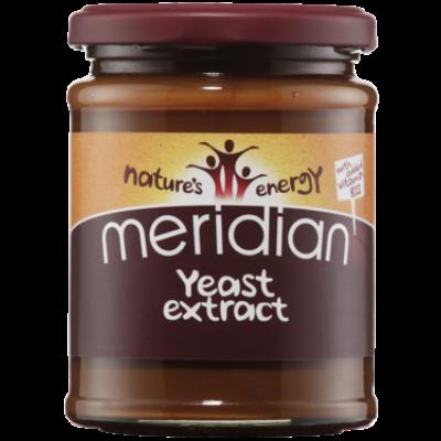 Meridian Yeast Extract (Élesztőkivonat) B12 Vitaminnal és só nélkül 340g
