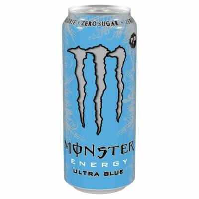Monster Energy Ultra Blue PM 1.25 500ml