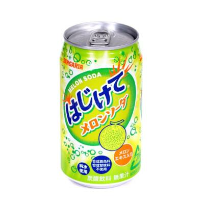 Hajikete Melon Soda [JPN] 350ml