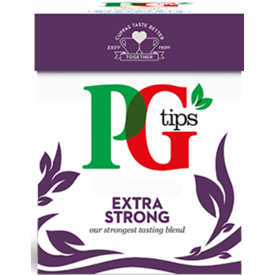 PG Tips Extra Strong Tea 80 db filter