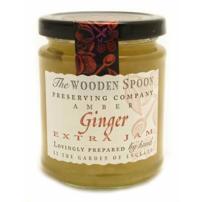 The Wooden Spoon Ginger Extra Jam 340g
