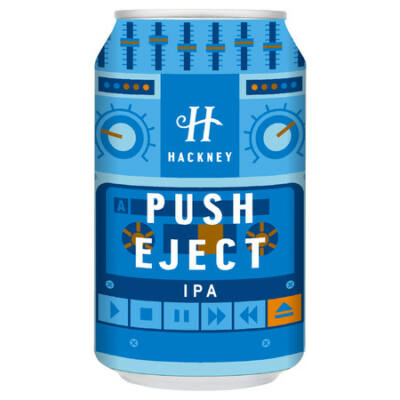 Hackney Brewery Push Eject IPA (330ml, 6.5°%)
