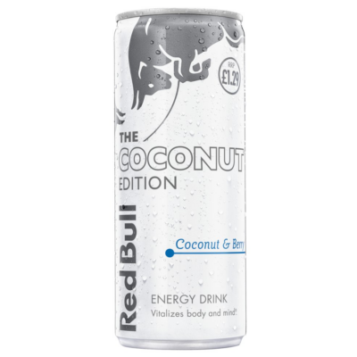 Red Bull Coconut & Berry PM £1.29 250ml