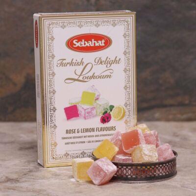 Sebahat Rose & Lemon Turkish Delight (Lokum) 250g