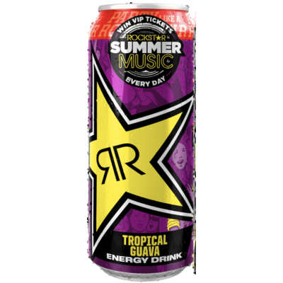 Rockstar Punched Guava - Summer Music Ltd Edt. 99p 500ml