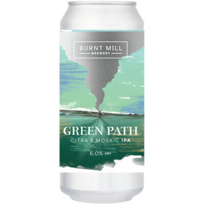 Burnt Mill Green Path IPA (440ml, 6%)