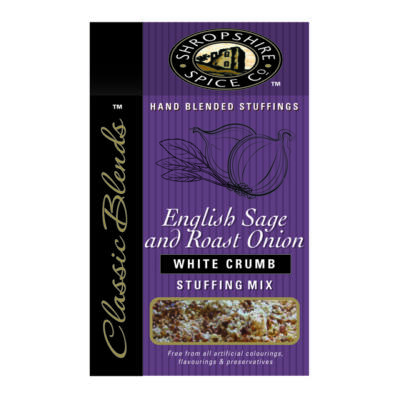 Shropshire Spice Co English Sage & Roast Onion White Crumb 150g