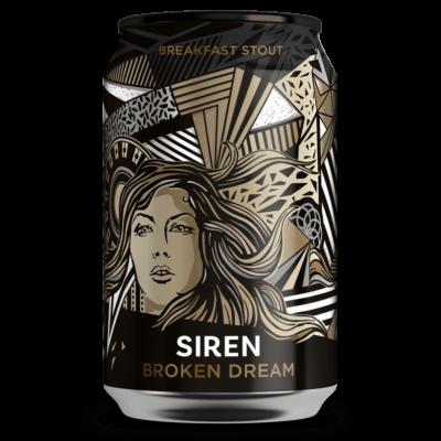 Siren Broken Dream - Breakfast Stout (330ml dobozos, 6.5%)