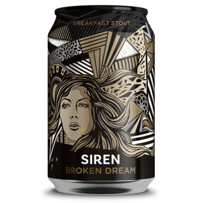 Siren Broken Dream - Breakfast Stout (330ml dobozos, 6.5%)
