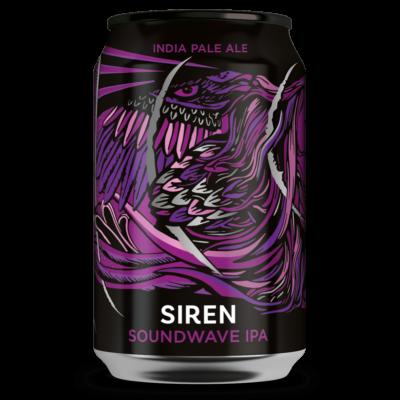 Siren Soundwave IPA (330ml dobozos, 5.6%)