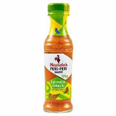 Nandos Lemon & Herb Peri-peri Sauce 125g