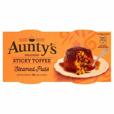 Aunty's Sticky Toffee Pudding 2x110g
