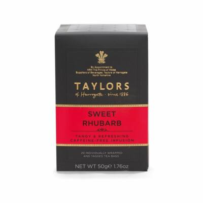 Taylor's Of Harrogate Sweet Rhubarb Tea (Édes rebarbara) 20 db filter