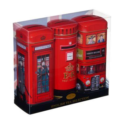 New English Teas - English Tea Selection (Busz, postaláda és telefonfülke)