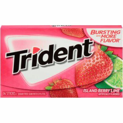 Trident Island Berry Lime rágógumi 14db