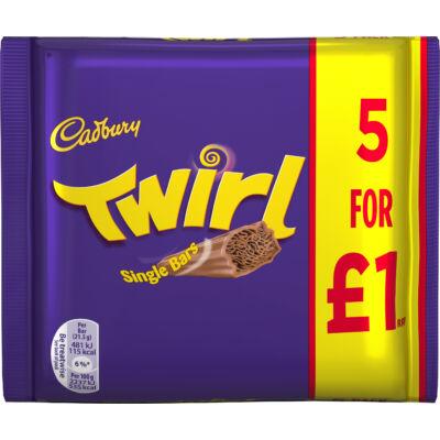 Cadbury Twirl 5 pack 107g