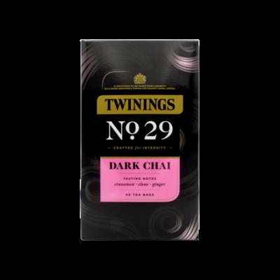 Twinings Dark Chai Tea 40 db filter