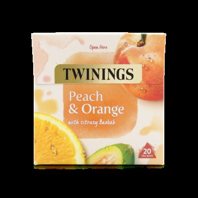Twinings Peach & Orange (Őszibarack és narancs) Tea 20 db filter