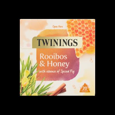 Twinings Rooibos & Honey (Rooibos és Méz) Tea 20 db filter