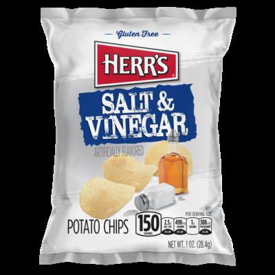 Herr's Salt & Vinegar Potato Chips [USA] 28g