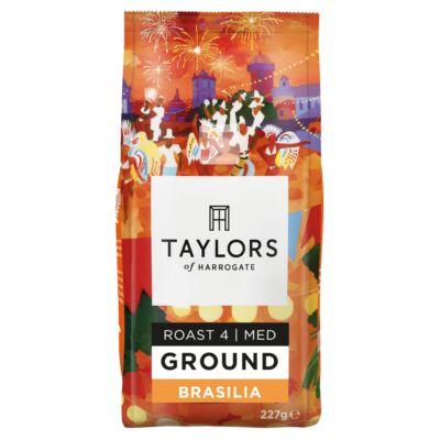 Taylors of Harrogate Cafe Brasilia Ground Coffee (őrölt kávé) 227g