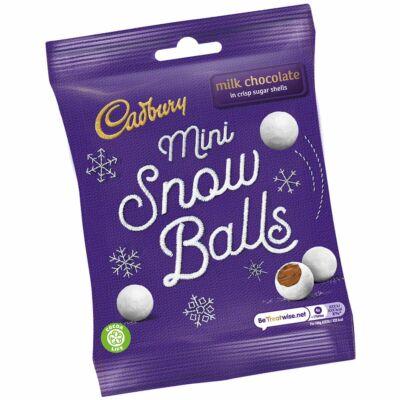 Cadbury Mini Snow Balls Bag 80g