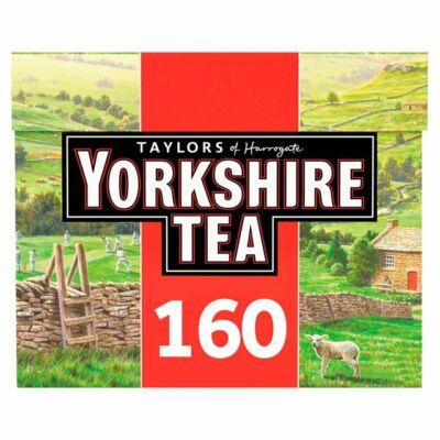 Yorkshire tradicionális fekete tea 160 filter