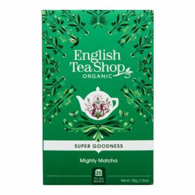 English Tea Shop  Mighty Matcha Tea 20 db filter