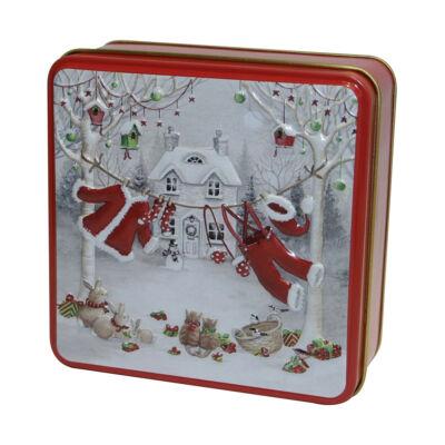 Grandma Wild's  Santa's Washing Line Tin (Fémdobozs Clotted Cream keksz) 100g