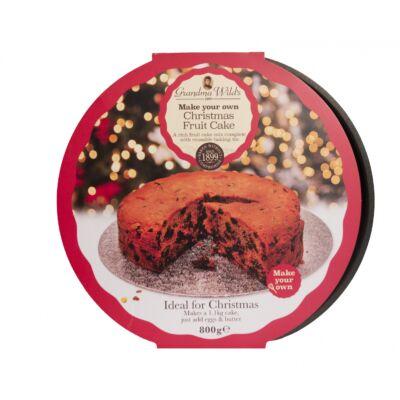 Grandma Wild's Rich Fruit Christmas Cake Mix 800g