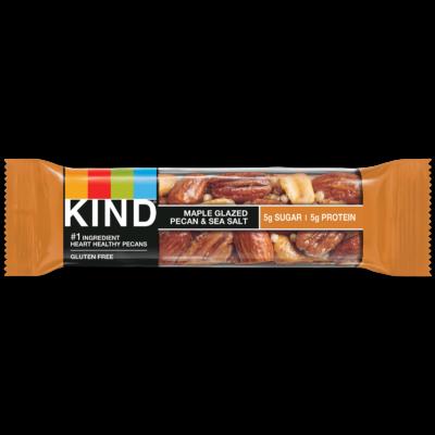 Kind Maple Glazed Pecan & Sea Salt 40g
