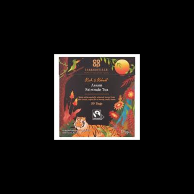 Co-op Assam Fairtrade Tea 50 db filter