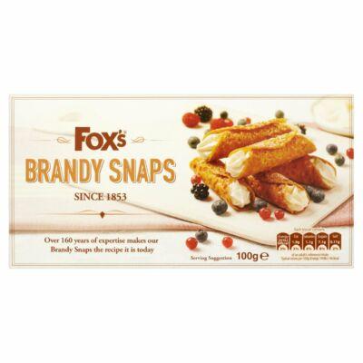 Foxs Brandy Snaps 100g