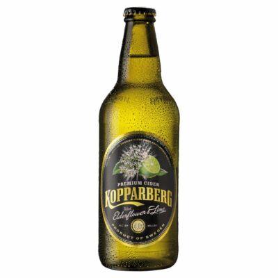 Kopparberg Elderflower & Lime (Bodza és lime) Cider 500ml
