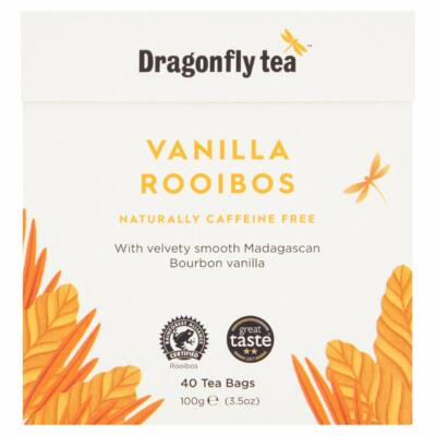 Dragonfly Rooibos Vanilla Tea Bags 40 db filter