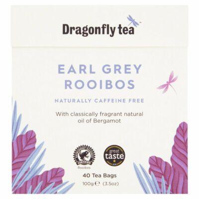 Dragonfly Rooibos Earl Grey Tea 40 db filter