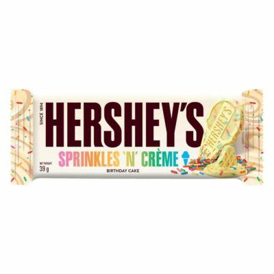 Hershey's Sprinkles 'N' Creme Birthday Cake Bar 39g