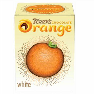 Terry's Chocolate Orange White Ball (Fehércsokoládés - narancsos csokigolyó) 147g