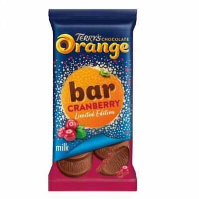 Terry's Chocolate Orange Cranberry Limited Edition Bar 90g