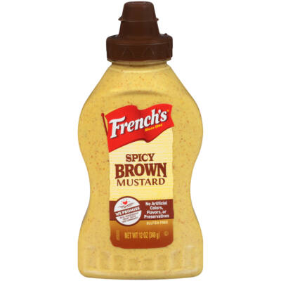 French's Spicy Brown Deli Mustard [USA] 340g
