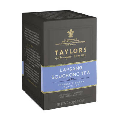 Taylors of Harrogate Lapsang Souchong Tea 20 db borítékolt filter