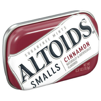 Altoids Smalls Cinnamon Sugarfree Mints Cinnamon [USA]