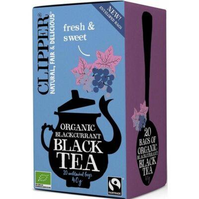 Clipper Organic Blackcurrant Black Tea 20 db filter