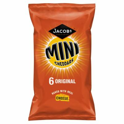 Jacobs Mini Cheddars Original 6pk 150g