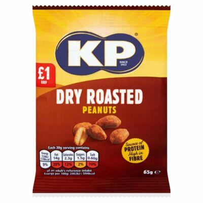 KP Dry Roasted Peanuts (Szárazra pirított mogyoró)  65g
