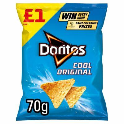 Doritos Cool Original Flavour Corn Snacks 70g