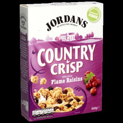 Jordans Country Crisp Flame Raisins 500g