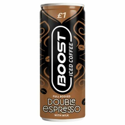Boost Iced Coffee Double Shot Espresso 250ml
