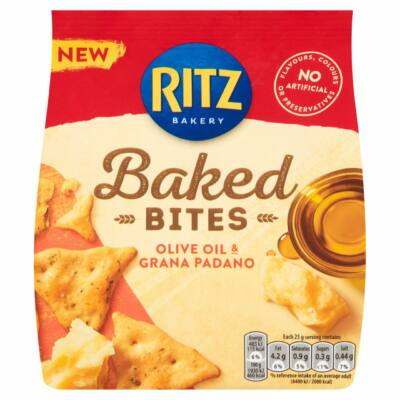 Ritz Baked Bites Olive Oil & Grana Padano 100g
